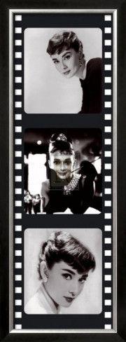 Film Reel IV Framed Art Print