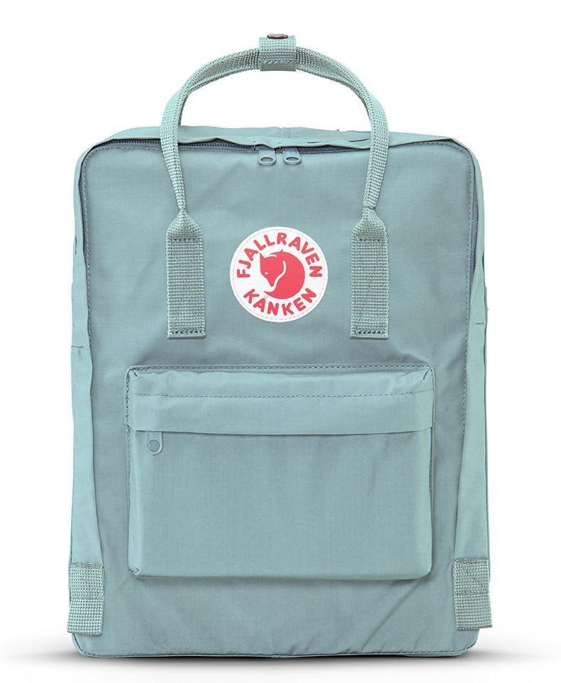 Fjallraven Kanken Backpack Frost Green Classic Backpack Backpack Fjallraven Kanken Classic