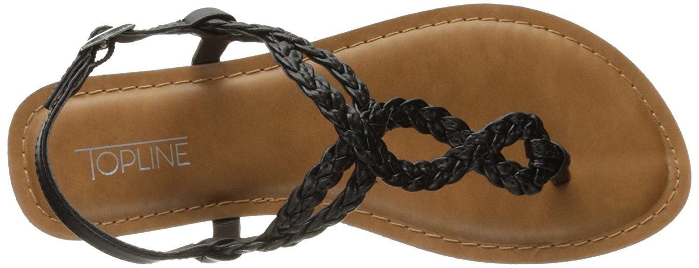 f494b03e11aca Topline Women's Every1 Flat Sandal   Flat Sandals