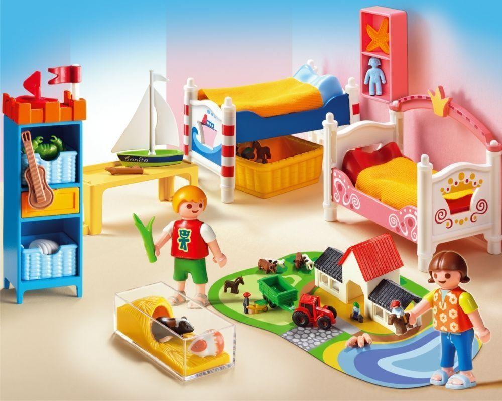 Amazon Com Playmobil Boy And Girl Room Toys Games Girl Room