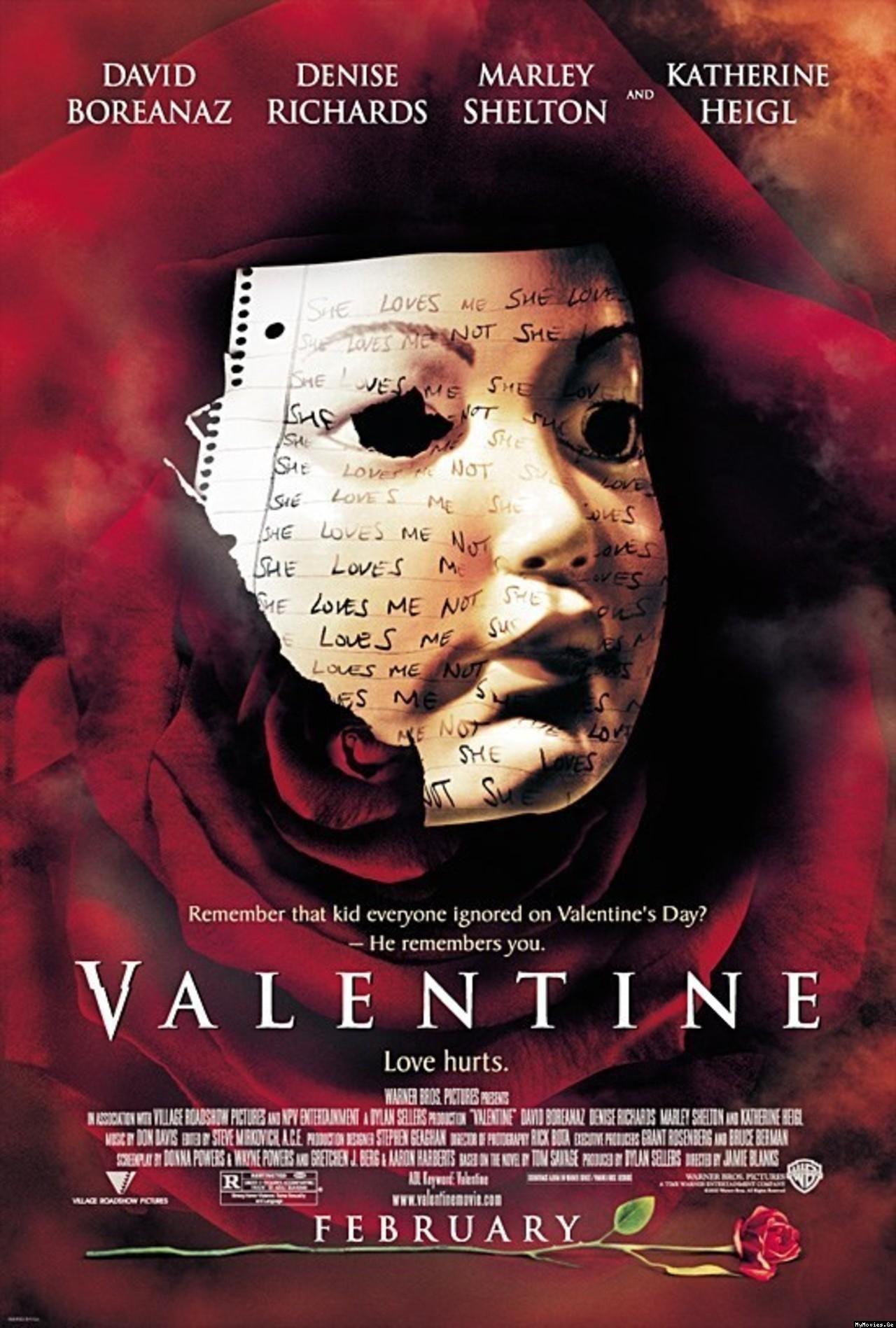 Filme O Dia Do Terror pertaining to valentine - review   movies   pinterest   toms, dia dos namorados