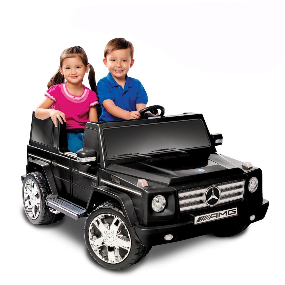 National Products Mercedes Benz G55 AMG RideOn, Black