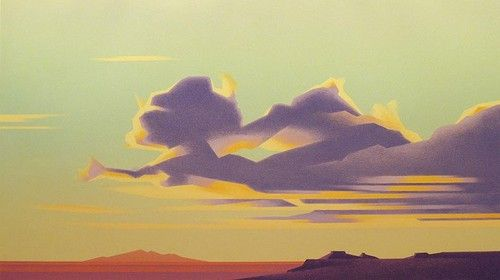 Ed Mell CLOUDS OVER THIRD MESA