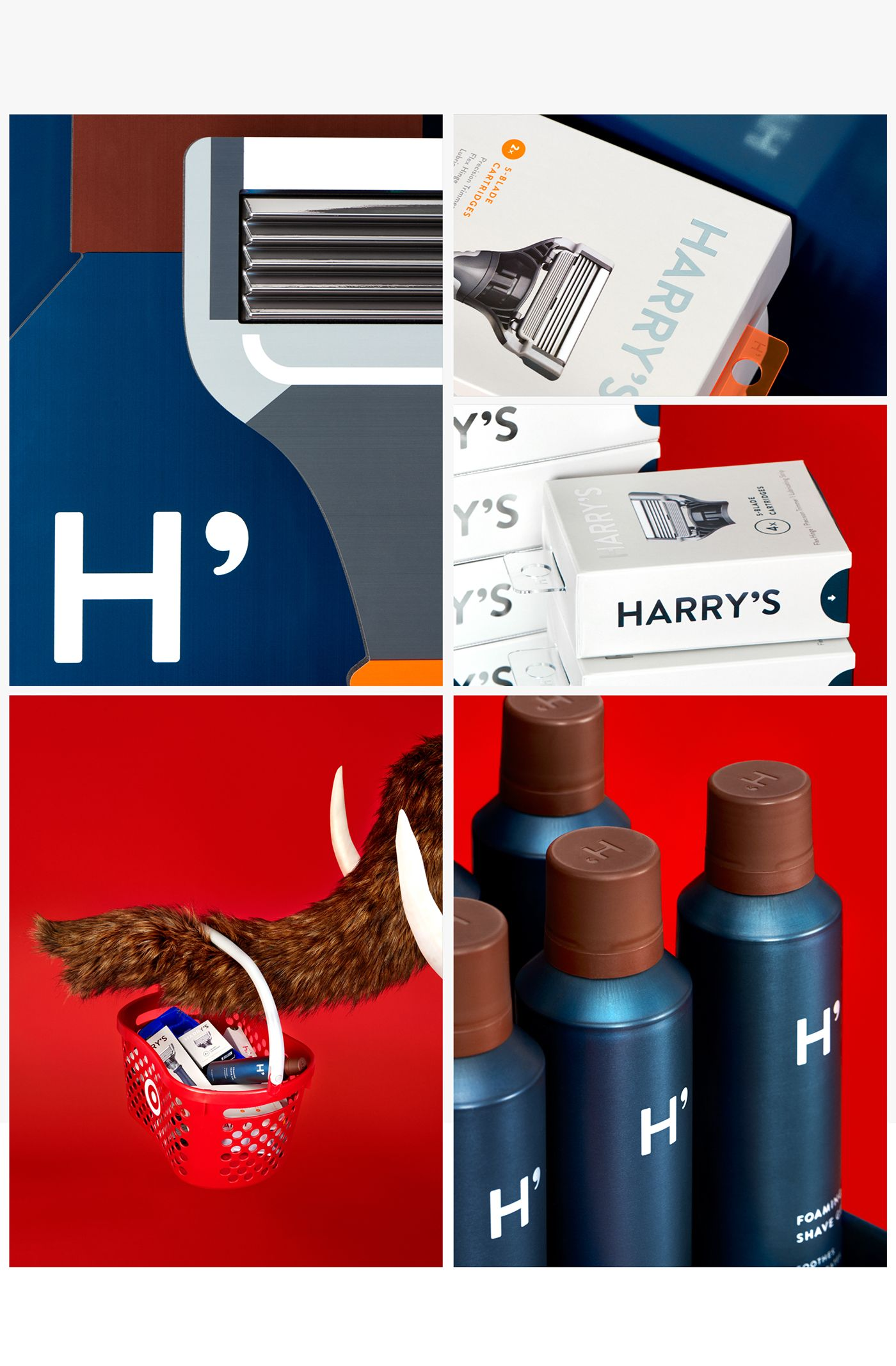 Harry S At Target Packaging On Behance In 2020 Harrys Packaging Branding Design