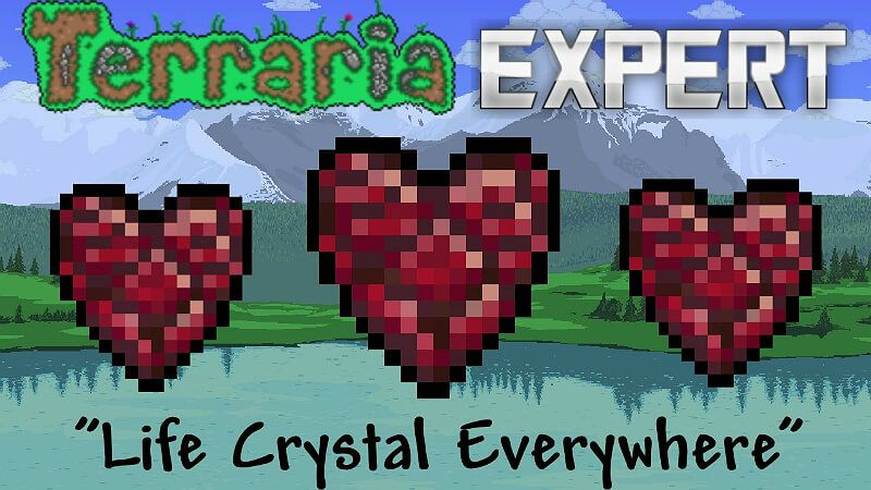 Life Crystal Terraria Crystals Life It Cast