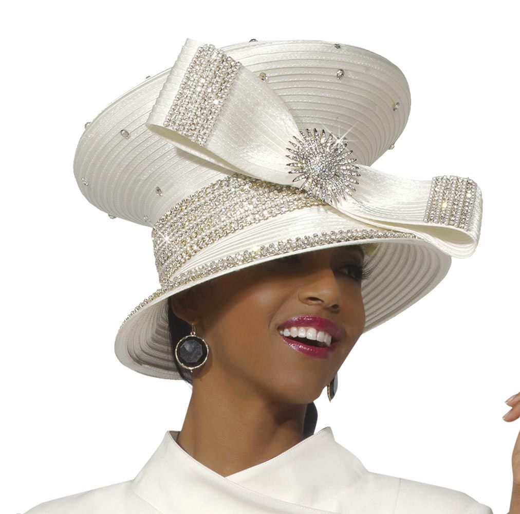 best selling ladies ivory church and special occasion hat