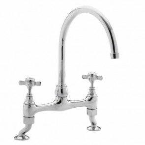ultra bridge kitchen sink mixer tap without waste kb306 - Kitchen Sink Mixers