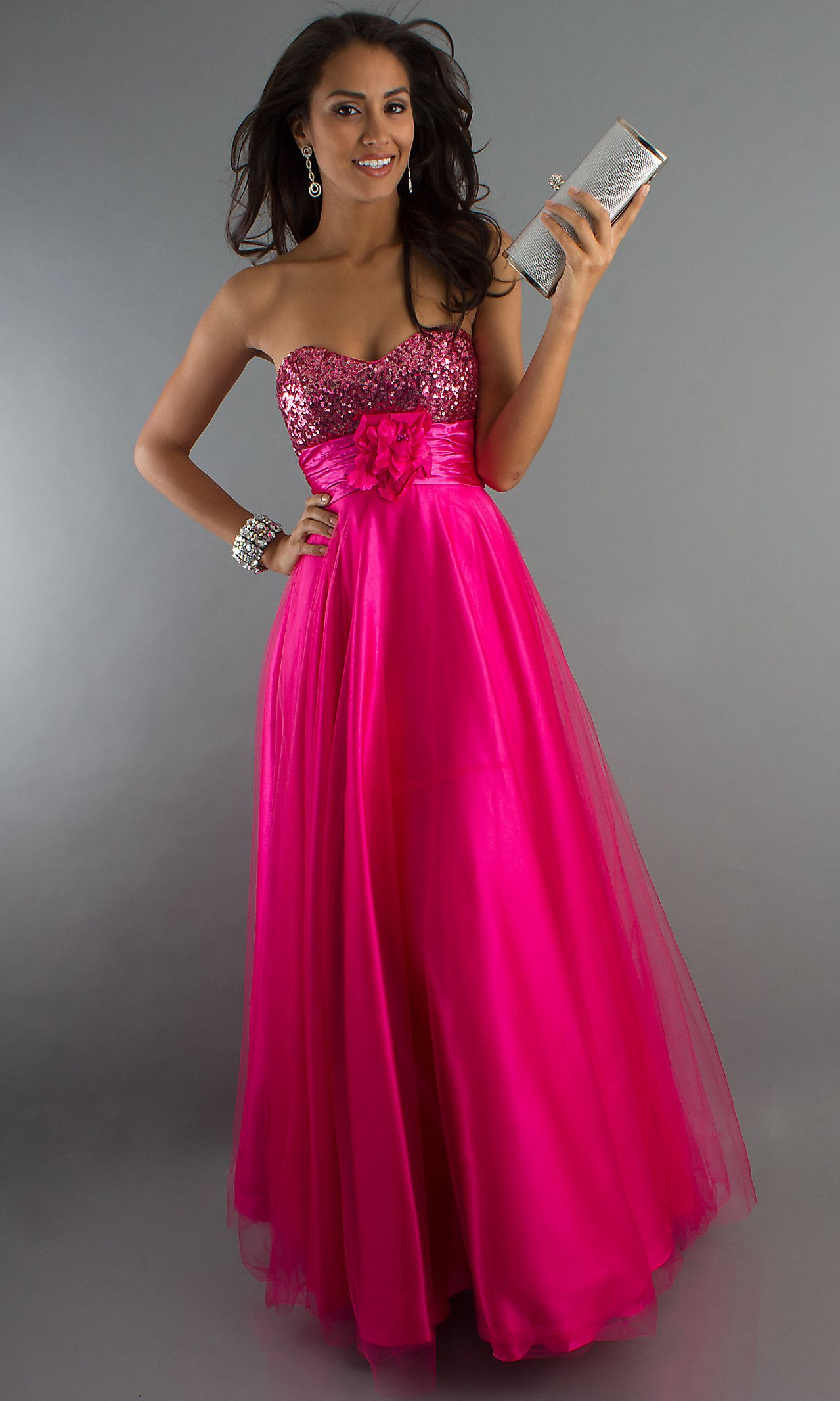 cf5f5e672c00d Long Strapless Sweetheart Gown DQ-8116f | Prom