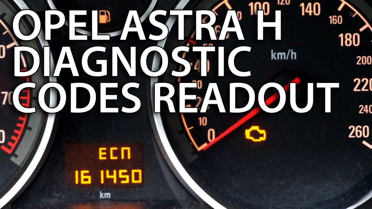 How To Check Dtc In Opel Astra H Diagnostic Hidden Menu Water Fuse Box Vauxhall