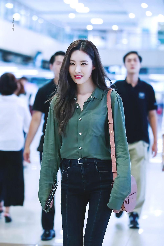 Wonder Girls Sunmi Airport Fashion Kpop Kpop Fashion Korean Fashion