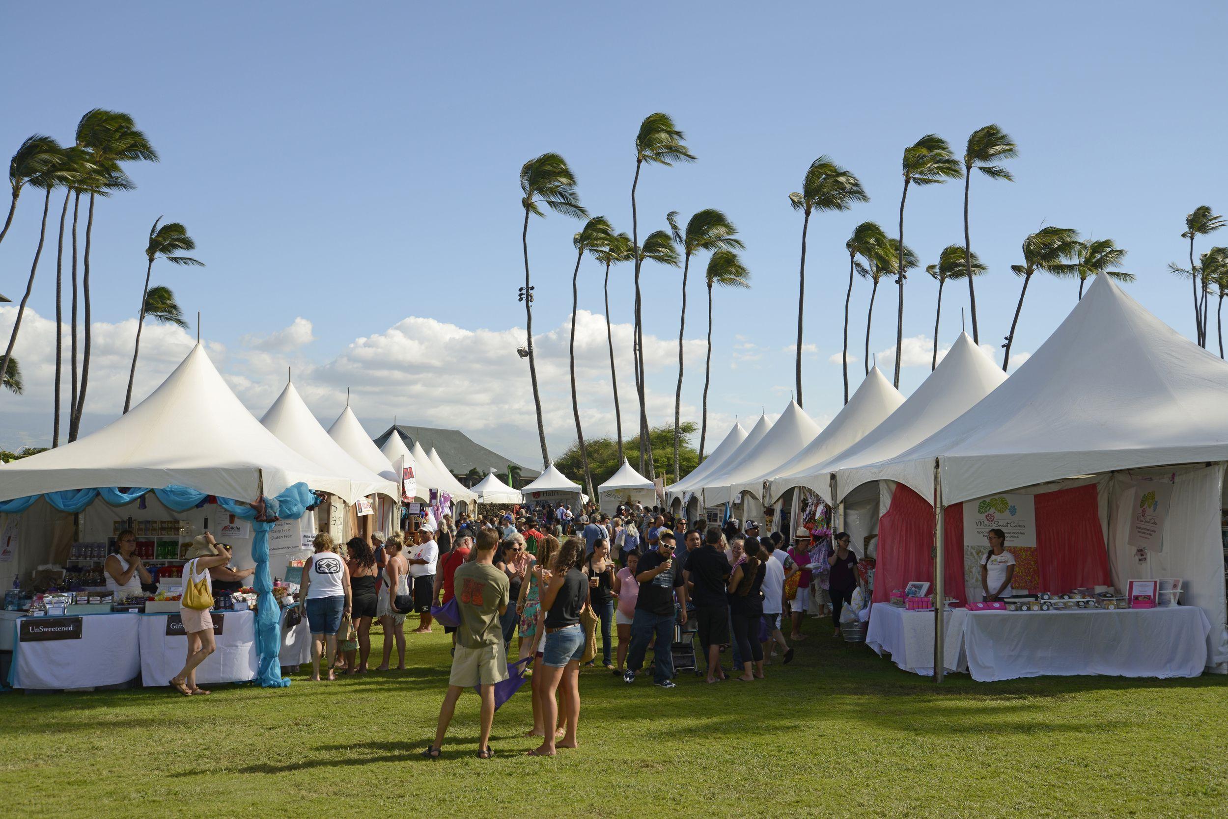 Hawaiian airlines made in maui county festival maui