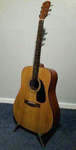 Fender DG 17EM Electro Acoustic Guitar Made In Korea Vintage