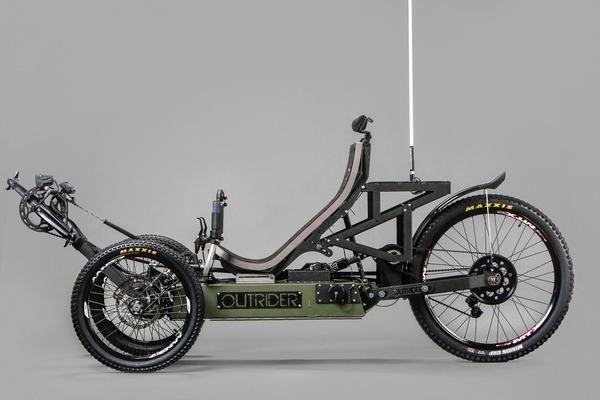 Horizon Off Road Pedal Electric L Recumbent Bicycle Electric Trike Bike