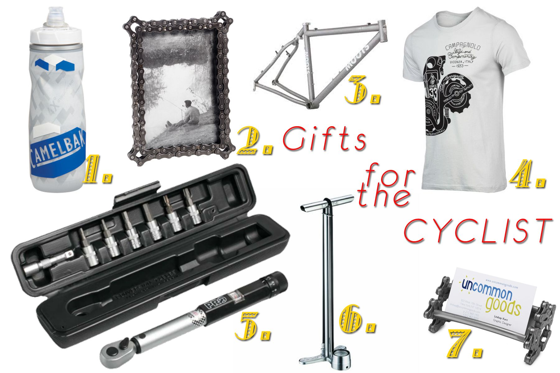 Gift ideas for cyclists!   MakingOurDream.com Projects   Pinterest