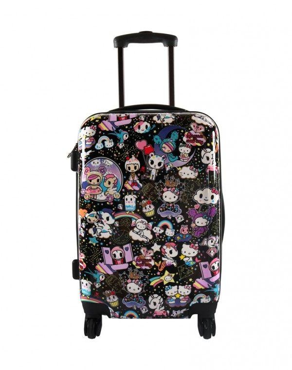 tokidoki x Hello Kitty Space Rolling Suitcase  aa5a62ec24994