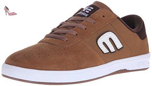 Etnies Scout, Chaussures de Skateboard Homme, Gris (Grey White Gum), 39 EU