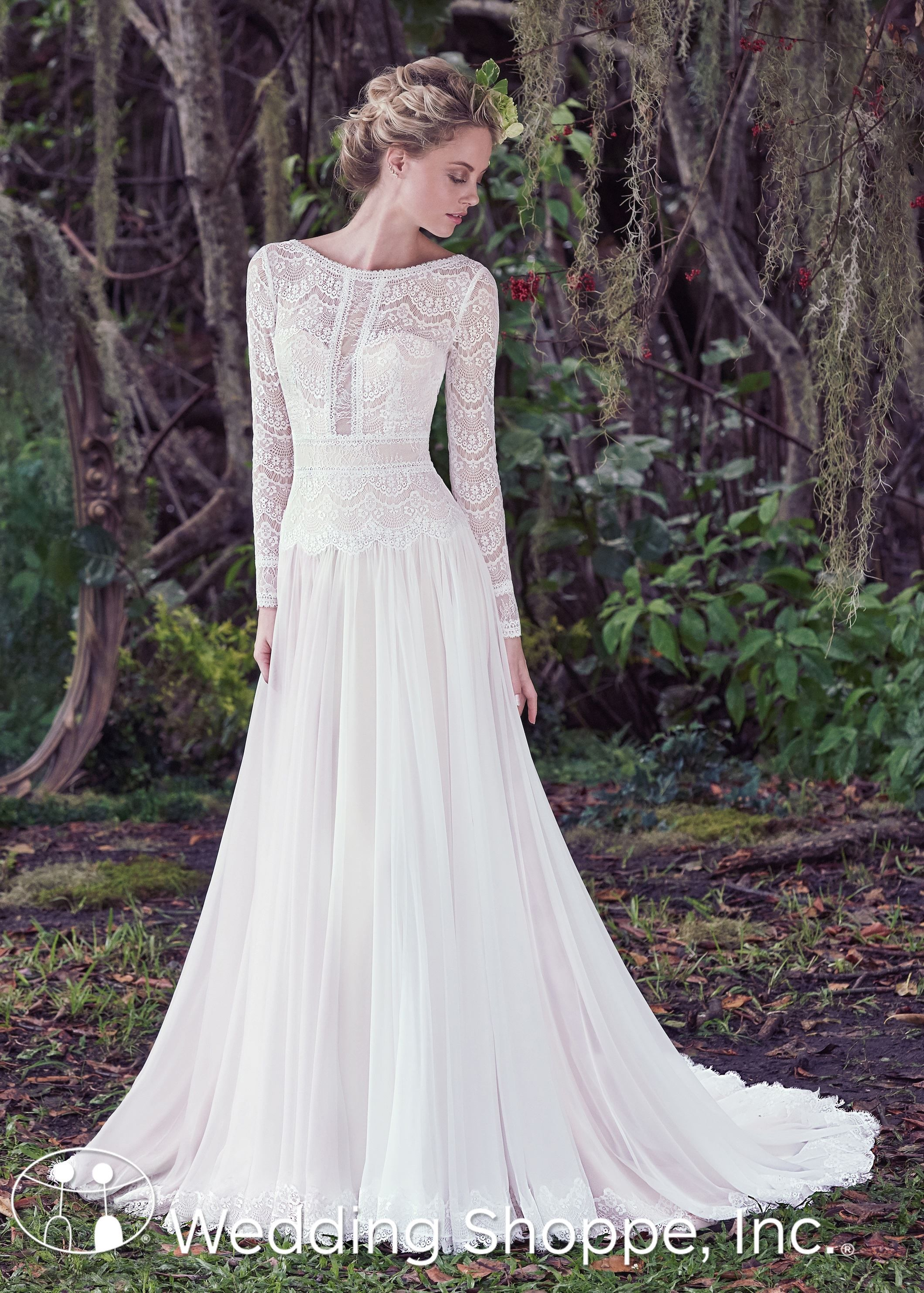 Maggie sottero bridal gown deirdre mw wedding pinterest