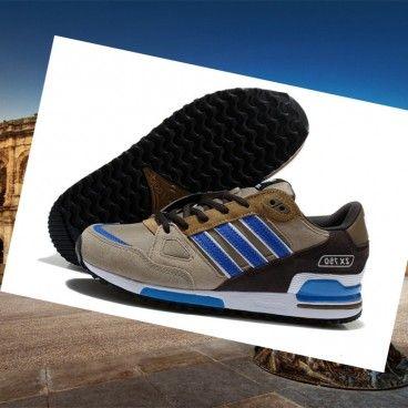 newest 18a41 7525c Italia Adidas zx 750 uomini formatori grigio calce marrone si lascia  lontano da sconfiggere gli avversari