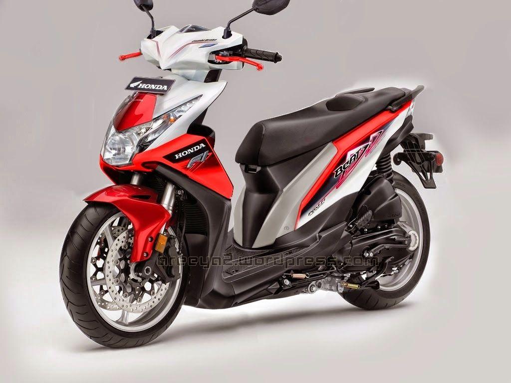 Modifikasi Motor Beat Pakai Stiker Di 2020 Modifikasi Mobil Honda
