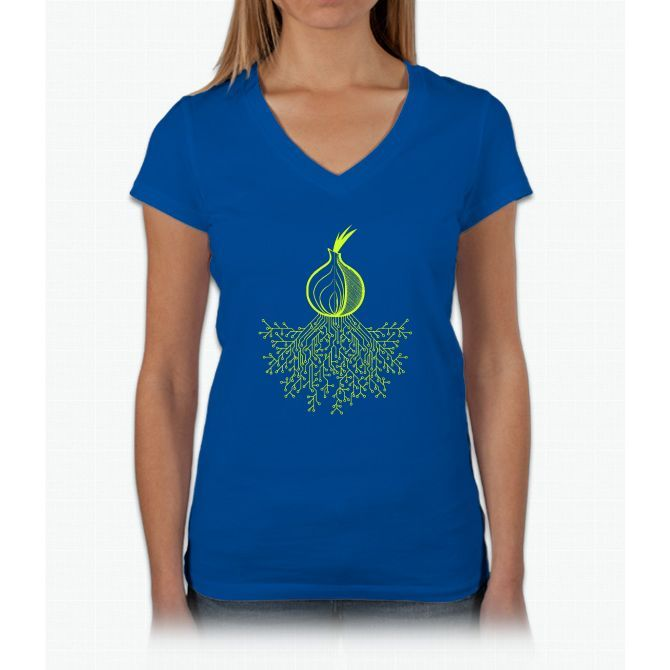Tor Circuit Design Womens V-Neck T-Shirt | Products