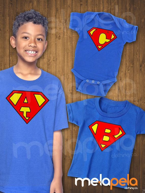 Personalized Super Hero T-Shirts Infant & by MelaPelaClothing