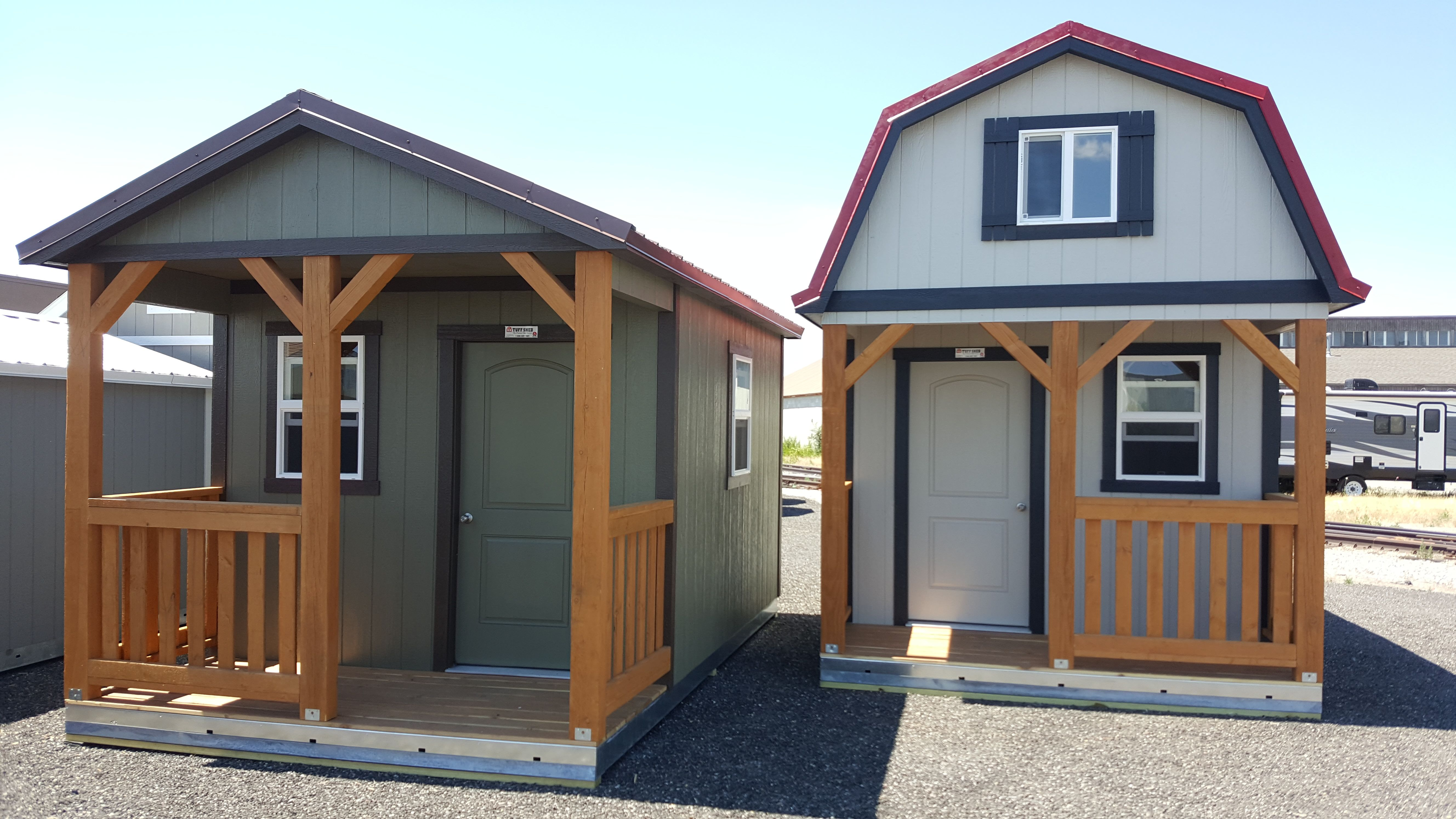 Storage Shed Construction Shed To Tiny House Cabin House Plans