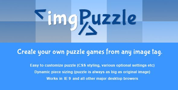Download Free              jQuery - imgPuzzle            #               drag and drop #game creator #images #img #puzzle #puzzle creator #puzzle games