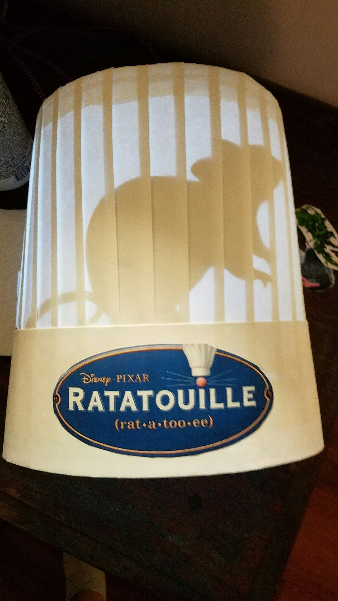 Ratatouille Chef Hat Back Lit Chef Toak Message Me If Need Help Couldn T Find Instructions On Line So Had To Crazy Hats Crazy Hat Day Book Character Costumes