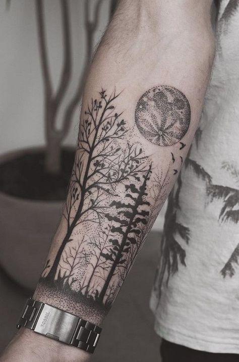 Photo of Wald Unterarm Tattoo – 110+ Fantastische Unterarm Tattoos – Tattoo Muster