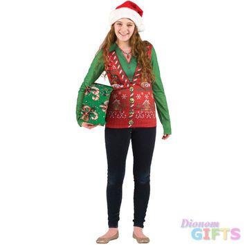 Women\u0027s Christmas Shirt Ugly \