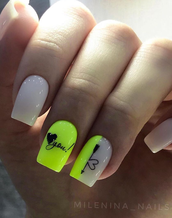 120 Pretty Natural Short Square Nails Design For Summer Nails Latest Fashion Trends For Woman In 2020 Square Nail Designs Short Square Nails Square Nails
