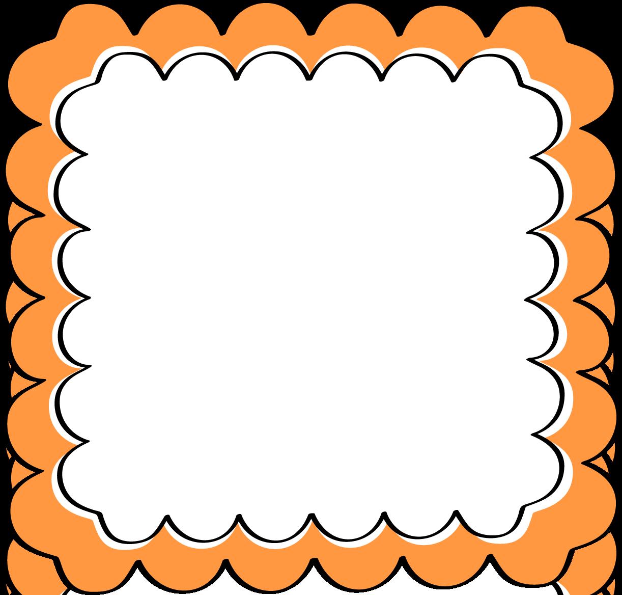 black and orange border Google Search Clip art borders
