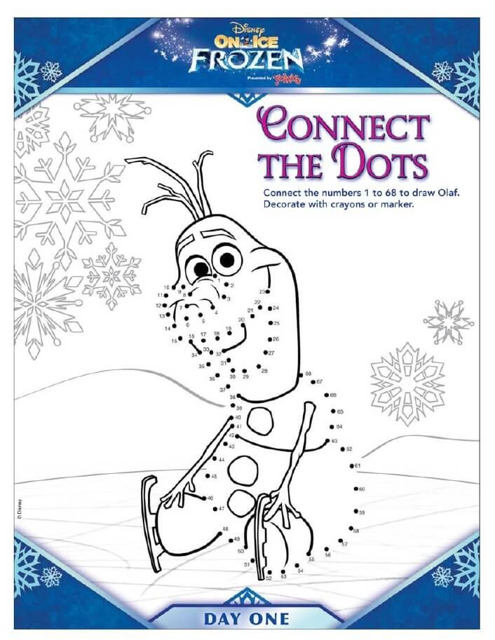 Disney Frozen Activity Pages From Disney On Ice Disney Frozen Disney Coloring Pages Disney On Ice