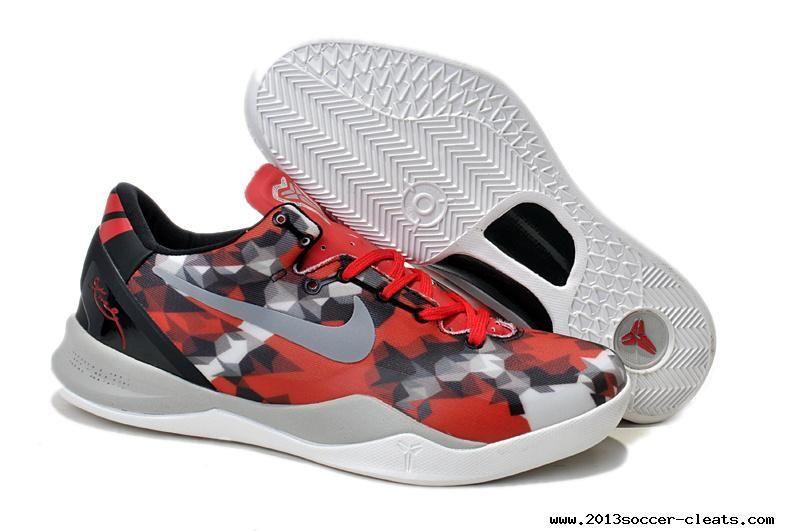 Authentic Nike Kobe 8 VIII System University Red Sail-Noble Red-Grey Milk  Snake 555035-601  584b573b1