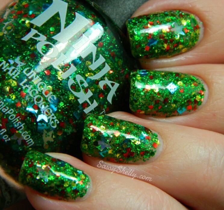 Ninja Polish Holiday Collection ~Part 3~ Glitter and Shimmer