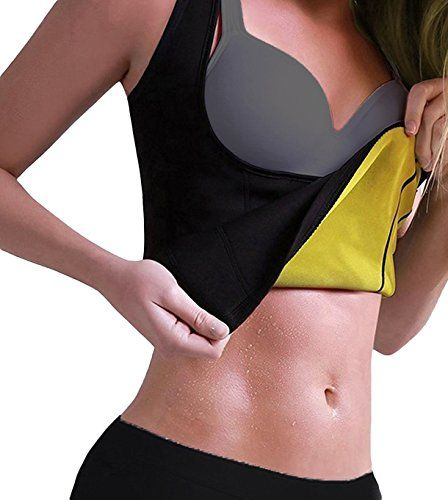 2f5a8d0f903f2 Roseate Womens Body Shaper Tummy Fat Burner Sweat Tank Top Weight Loss  Workout Shapewear Sauna Girdles XL -- More info could be found at the image  url.