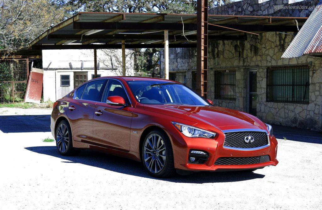 2016 Infiniti Q50 Red Sport 400 Front Angle Best Wallpaper