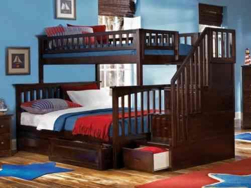 lit superpose deux places