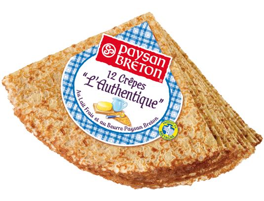 Crêpe l'Authentique : la recette traditionnelle bretonne de Paysan Breton.