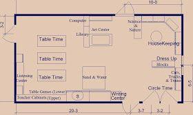 Day Care Layout Floor Plan Classroom Floor Plan