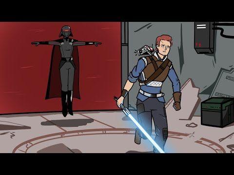 Jedi Fallen Order but it's all memes - YouTube