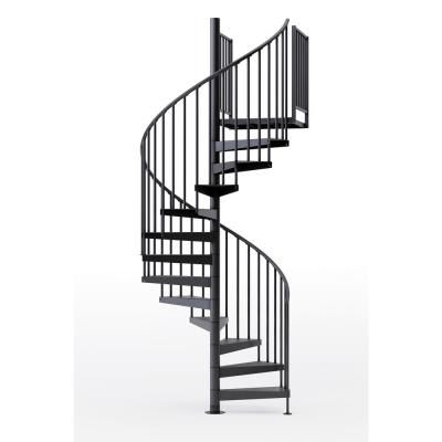 Best Mylen Stairs Condor Black 60 In 5 Ft In Wide 15 640 x 480