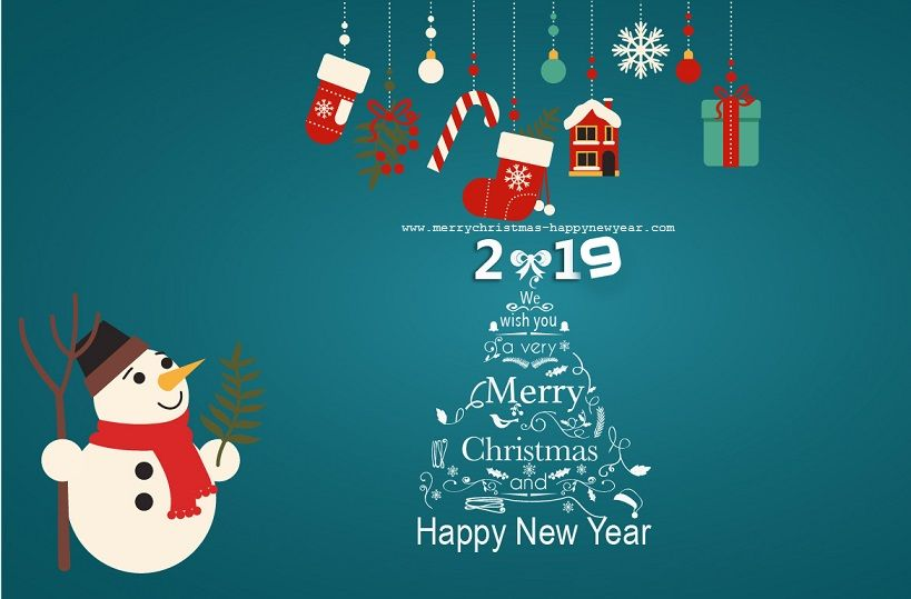 merry christmas happy new year 2019 facebook hd wallpapers images wishes quotes