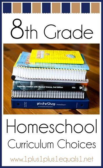 8th Grade Homeschool Curriculum Choices Ultimate Homeschool Board