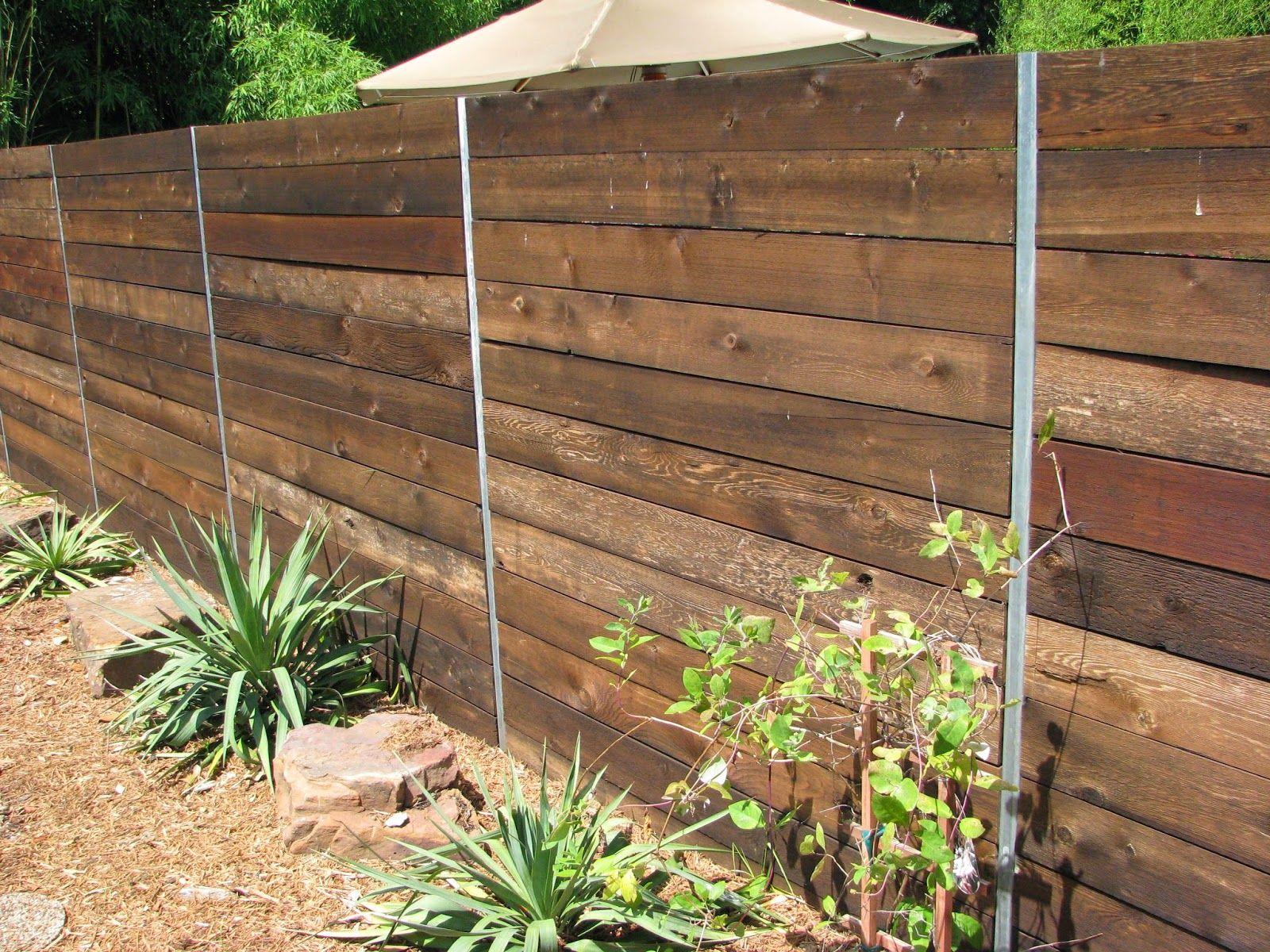 Postmaster Fence Post Modern Design In 2020 Backyard Fences
