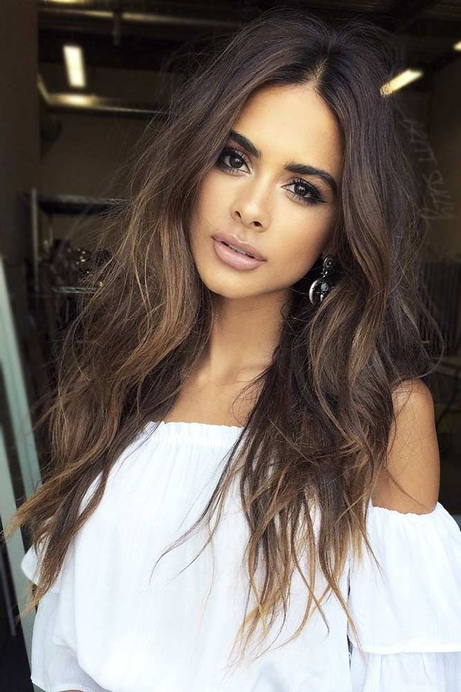 Pick A Brown Hair Color For Your Skin Tone Hair Pinterest