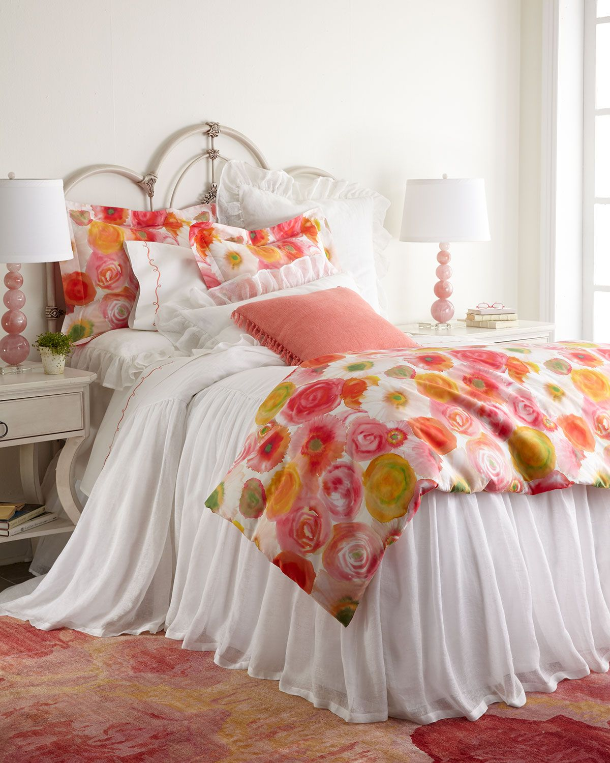 Pine Cone Hill Clarissa & Savannah Bedding Bed, Coverlet