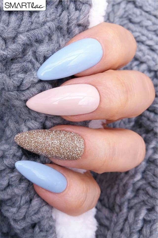 Pin By Emily On Nails Almond Nails Designs Cute Acrylic Nails Nail Designs