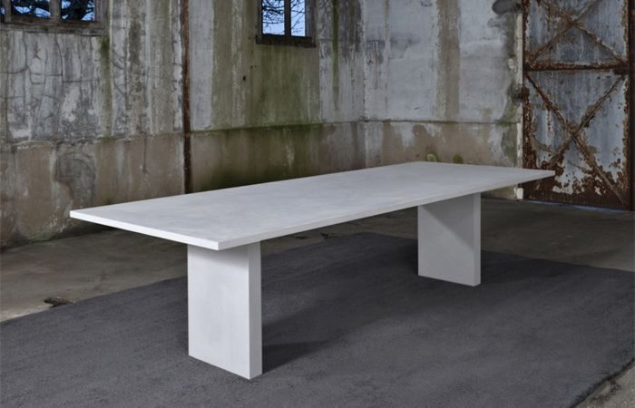 Table A Manger Beton Cire 2016 220cm 6 Teintes Au Choix Furniture Table Decor