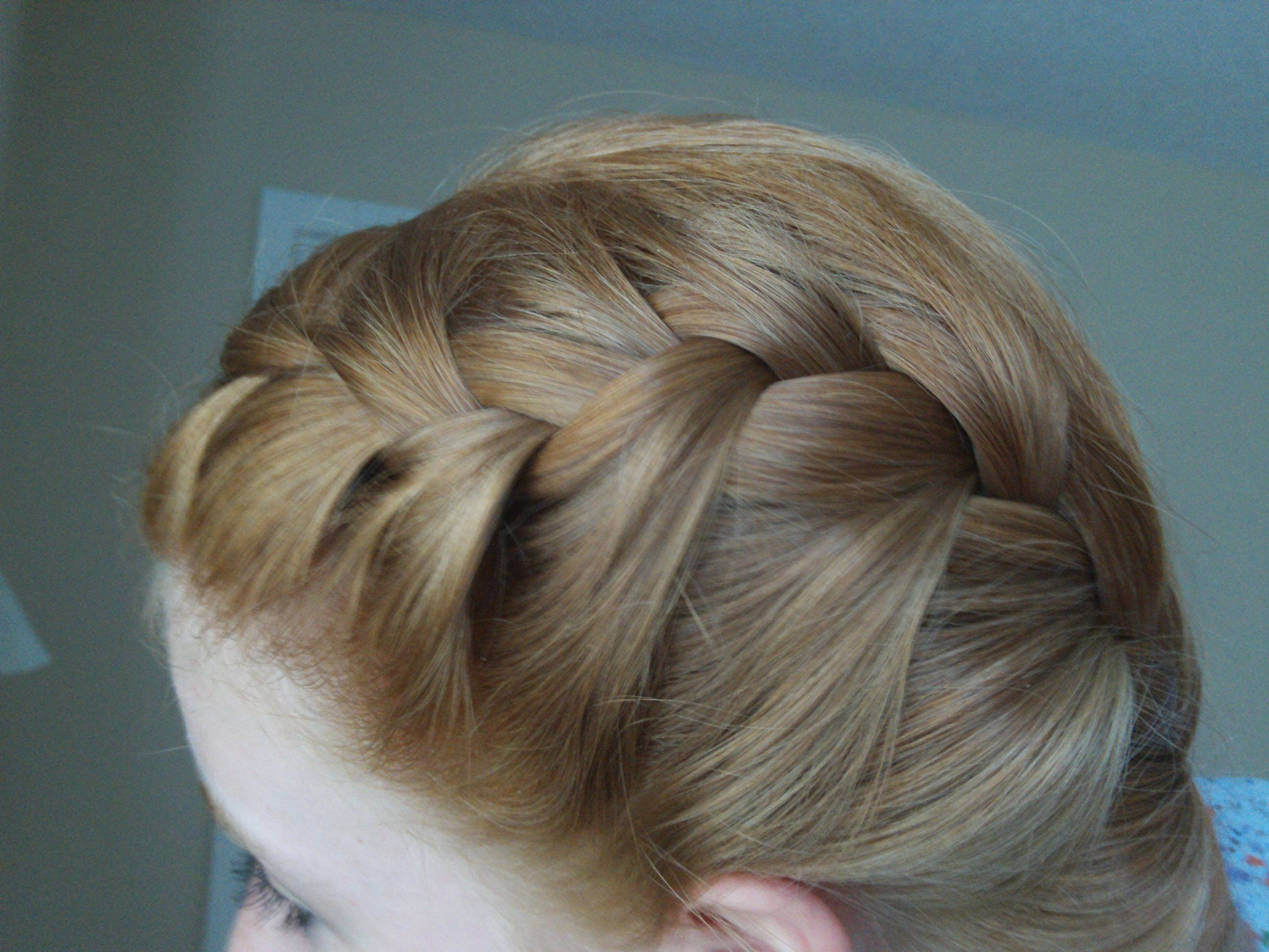 How To French Braid Your Hair In Two Parts Hair Styles Tips